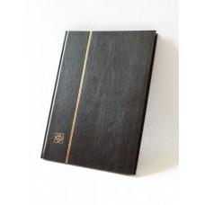 """Альбом для марок """"BASIC"""" 16 листов (32 страницы) чёрные листы. А4. Leuchtturm"""