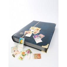 Альбом для марок (кляссер COMFORT DELUXE). 32 листа (64 страницы) из чёрного картона. Leuchtturm