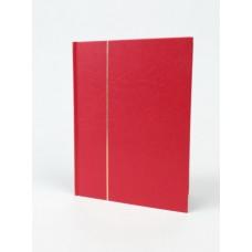 """Альбом для марок """"BASIC"""" 4 листа (8 страниц) из чёрного картона (А5). Leuchtturm"""