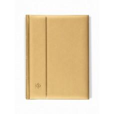 """Альбом для марок """"COMFORT"""" 32 листа (64 страницы) чёрные листы. Metallic edition (Золотой). Leuchtturm"""
