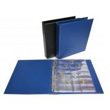 """Альбом для монет вертикальный """"Коллекция"""", формат Numis, лист скользящий"""