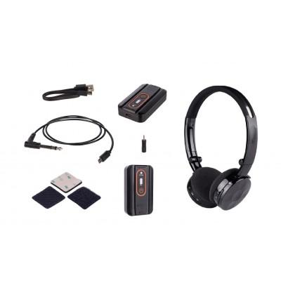 Трансмиттер с беспроводными наушниками Deteknix Wirefree Lite