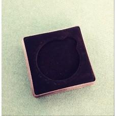 Футляр пластиковый для одной монеты в капсуле (диаметр 40 мм), ЧЁРНЫЙ
