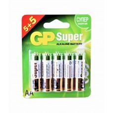 Батарейки GP Super ,10 шт