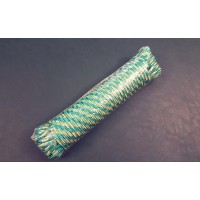 Веревка для поискового магнита, жёлто/зелёный 6мм, 20 метров, 400кг