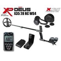 Металлоискатель XP Deus v5.2 c блоком, катушкой X35 28см (11''), наушниками WS4