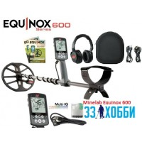 Металлоискатель Minelab EQUINOX 600 с беспроводными наушниками