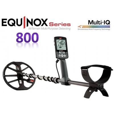 Металлоискатель Minelab EQUINOX 800 +ПОДАРКИ