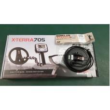 """Металлоискатель Minelab X-terra 705 с катушкой снайперкой 6"""""""