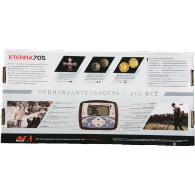 Металлоискатель MINELAB X-TERRA 705 DD NEW
