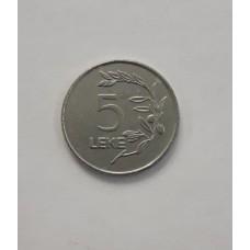 5 лек 2000 год. Албания