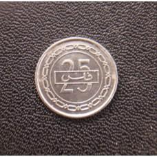 25 филсов 2002 год. Бахрейн