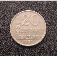 20 сентаво 1970 год. Бразилия