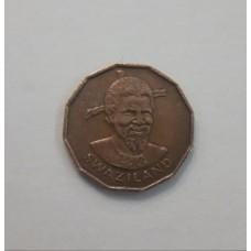 1 цент 1974 год. Свазиленд