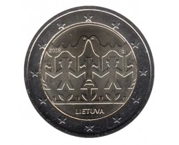 2 евро 2018 год. Литва. Литовский праздник песни и танца.