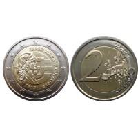 2 евро 2010 год. Португалия. 100 лет Португальской Республике.