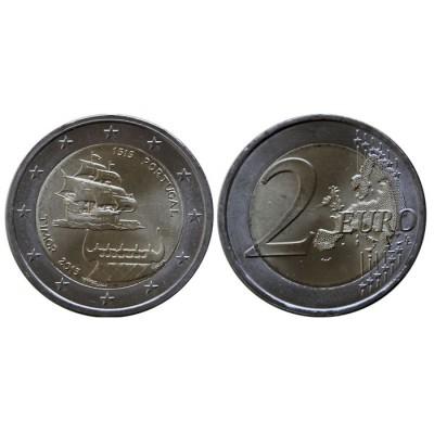 2 евро 2015 год. Португалия. 500 лет открытию Португальского Тимора.