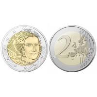 2 евро 2018 год. Франция. Симона Вейль