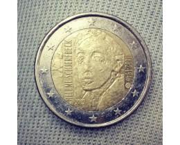 2 евро 2012 год. Финляндия.  Хелен Шерфбек (из обращения)