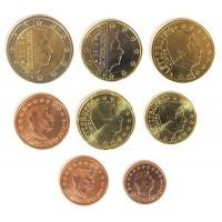 Люксембург. Набор евро монет. 2013 год.