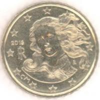 10 Евроцентов 2016 год. Италия