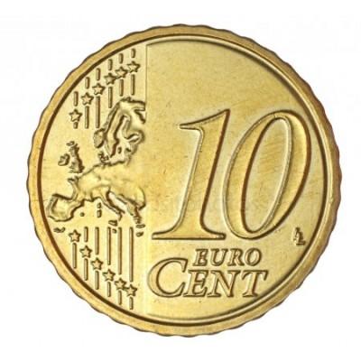 10 евроцентов 2014 год. Латвия