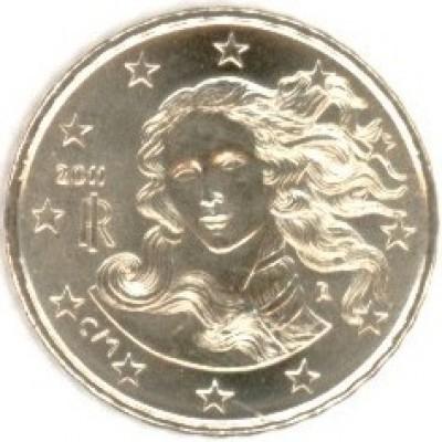 10 евроцентов 2011 год. Италия