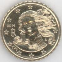 10 евроцентов 2014 год. Италия