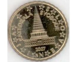 10 евроцентов 2007 год. Словения