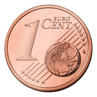 1 евроцент 2009 год. Испания