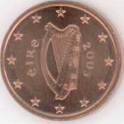 1 Евроцент 2003 год. Ирландия