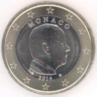 1 евро 2014 год. Монако