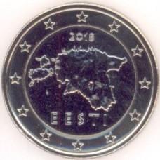1 Евро 2018 год. Эстония