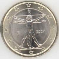 1 Евро 2007 год. Италия