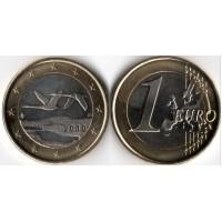 1 Евро 2010 год. Финляндия