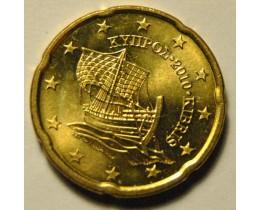 20 Евроцентов 2010 год. Кипр