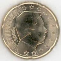20 евроцентов 2006 год. Люксембург