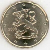 20 евроцентов 2008 год. Финляндия