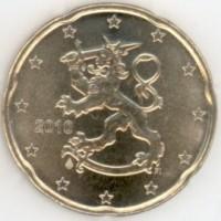 20 евроцентов 2010 год. Финляндия