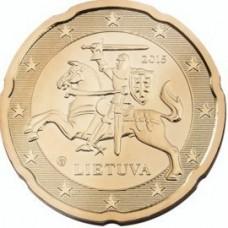 20 евроцентов 2017 год. Литва.