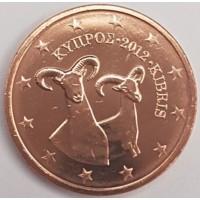 2 Евроцента 2012 год. Кипр
