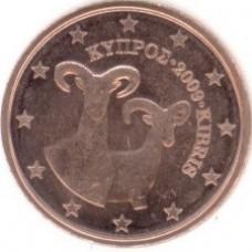 2 Евроцента 2009 год. Кипр