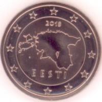 2 Евроцента 2018 год. Эстония