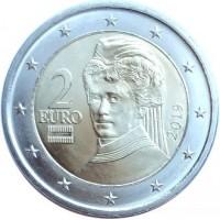 2 Евро 2019 год. Австрия