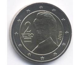 2 Евро 2015 год. Австрия
