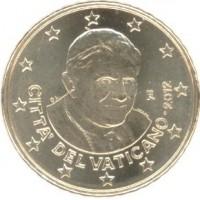 50 Евроцентов 2012 год. Ватикан