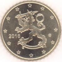 50 Евроцентов 2016 год. Финляндия