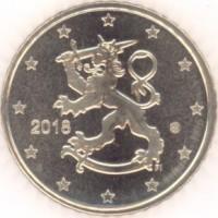 50 Евроцентов 2018 год. Финляндия