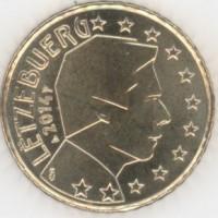 50 Евроцентов 2014 год. Люксембург