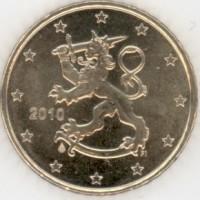 50 Евроцентов 2010 год. Финляндия